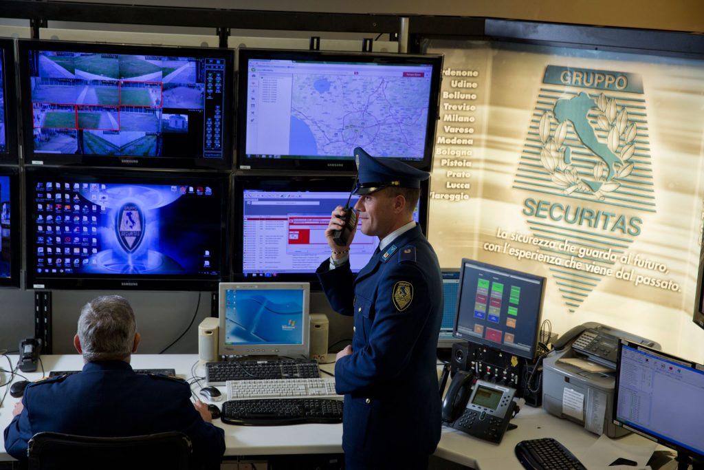 Centrale Operativa Gruppo Securitas Metronotte