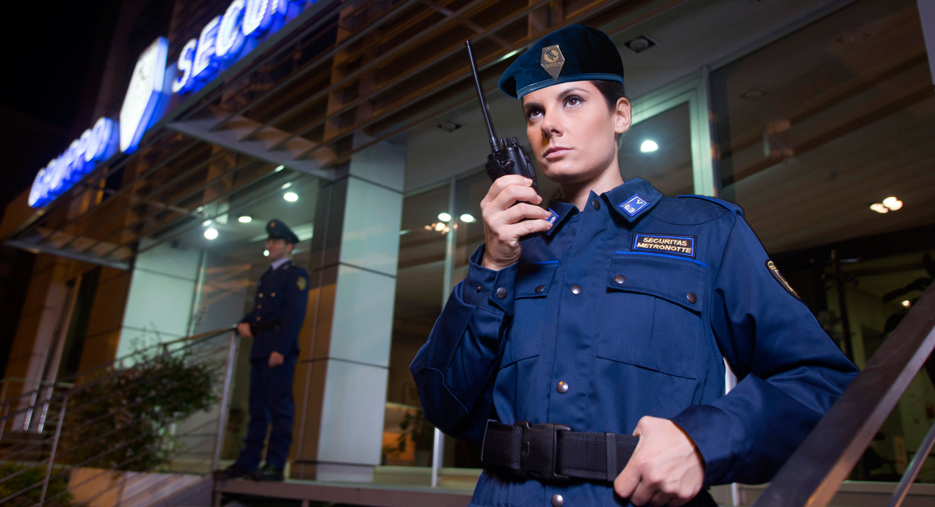 Controllo ingressi Receptionist Metronotte Gruppo Securitas